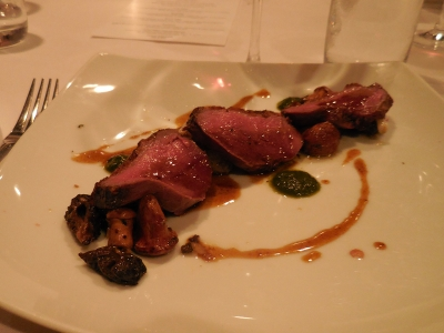 Duck & Mushrooms