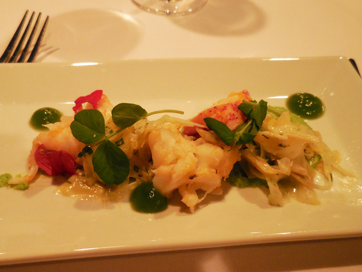Butter Poached Maine Lobster