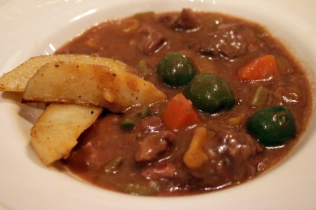 Lamb and Olive Stew