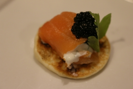Salmon Hors d'oeuvre