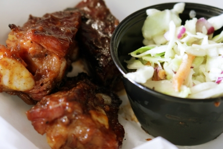 Rib Tips & Coleslaw -- Again!