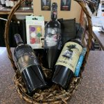 Christmas Wine and Liquor Gift Baskets